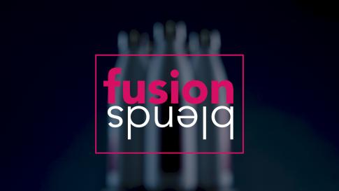 fusion blends logo